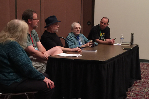Harlan Ellison at Archon.