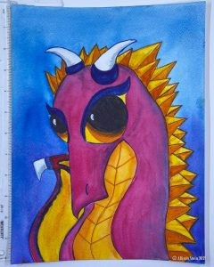 My Little Dragon by Allison Stein